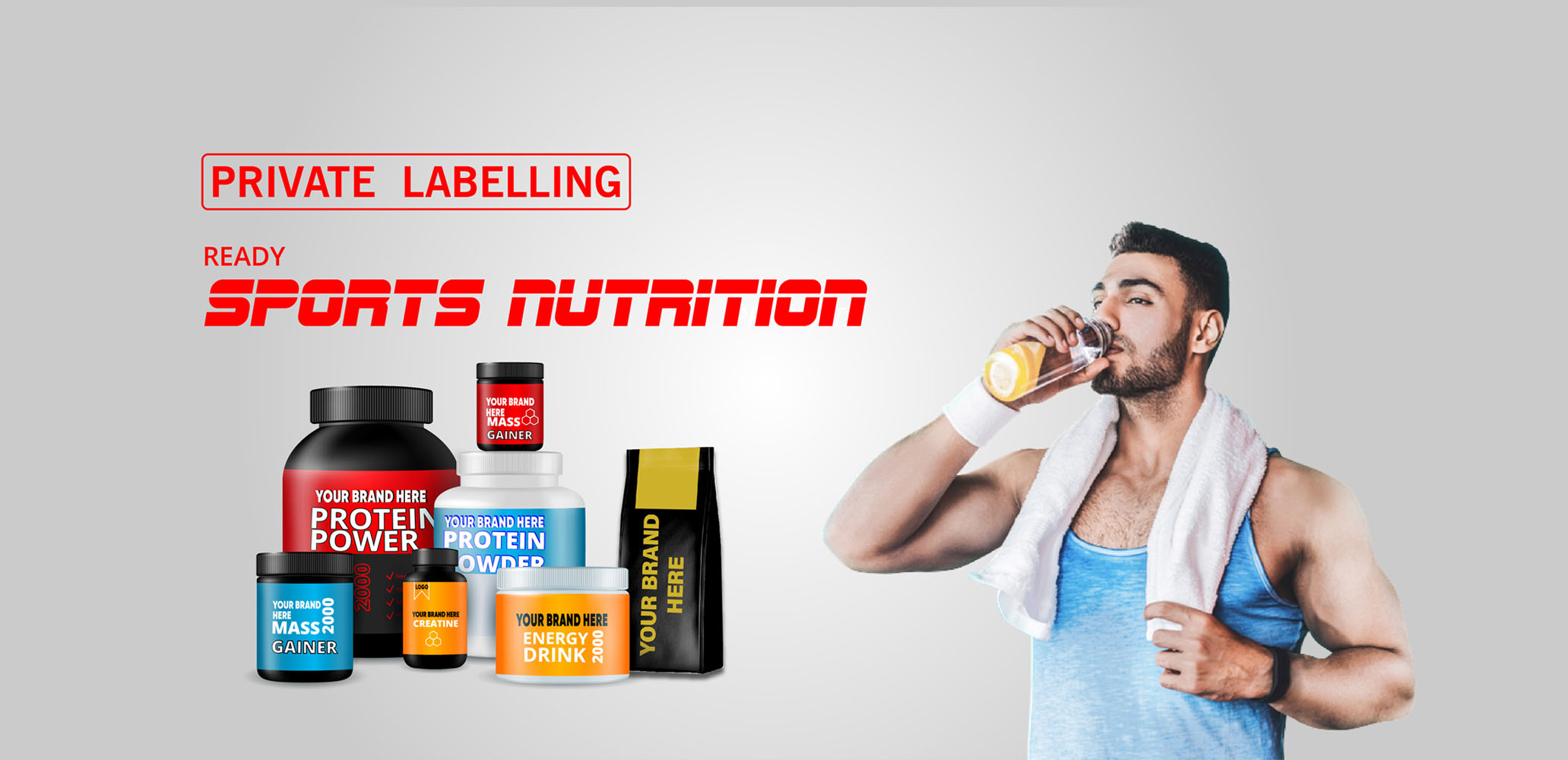 Sports Nutrition Private Labelling and Contract Manufacturing